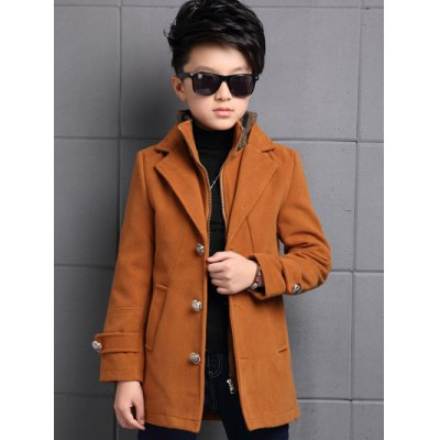Double Neck Woolen Coat