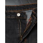 best Slim Fit Zipper Fly Distressed Jeans