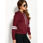 Drawstring Striped Hoodie deal
