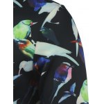 All Over Birds Printed Crew Neck Sweatshirt deal