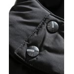 Embroidery Logo Padded Coat with Detachable Hood for sale