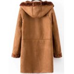 cheap Faux Shearling Coat With Pockets