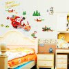 Christmas Tree Santa DIY Home Decoration Chriatmas Wall Stickers deal