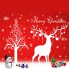 Christmas Deer DIY Window Decoration Chriatmas Wall Stickers for sale