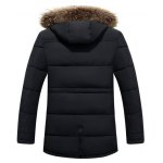 cheap Multi Pockets Quilted Jacket with Detachable Hood