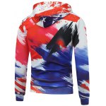 Letter and Star Printed Long Sleeve Hoodie deal