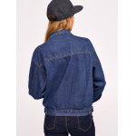 best Button Design with Pockets Denim Jacket