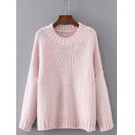 Drop Shoulder Jumper Sweater