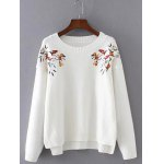 Chinese Painting Embroidery Jumper Sweater