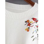 Chinese Painting Embroidery Jumper Sweater deal