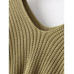 Loose Dolman Sleeve Chunky Sweater deal