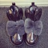Rabbit Ear Faux Fur Snow Boots deal