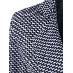Houndstooth Lapel Wool Coat deal