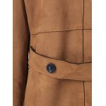 best Sueded Lapel Coat