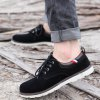 cheap Suede Eyelet Casual Shoes