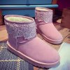 best Fuzzy Lace Panel Snow Boots