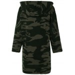 cheap High Low Camouflage Oversized Hoodie