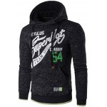 Graphic Print Cotton Blends Drawstring Hoodie