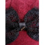 Outdoor Knitted Bowknot Slouchy Hat deal