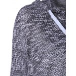 Hooded Long Sleeve Drawstring Sweater deal