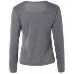 cheap Casual Plus Size Long Sleeve T-Shirt