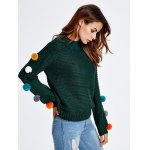 Pompon Chunky Knit Sweater deal