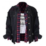 Distressed with Pockets Denim Jacket deal