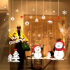 Christmas Snowman Removable Wall Decals for Living Room photo