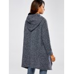 Hooded Asymmetric Loose Sweater for sale