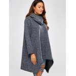 Hooded Asymmetric Loose Sweater deal
