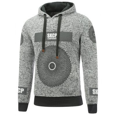 Pullover Graphic Printed Hoodie