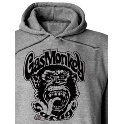 Orangutan and Graphic Print Hoodie