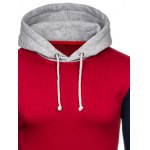 cheap Color Block Splicing Drawstring Hoodie