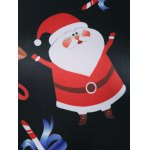 Christmas Santa Claus Print Dress photo