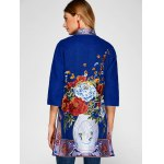 best Chinese Style Embroidery Woolen Blend Coat