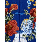 Chinese Style Embroidery Woolen Blend Coat photo