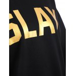 Pullover Slay Print Sweatshirt for sale