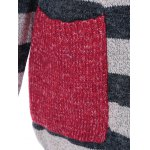 best Pockets Graphic Striped Cardigan