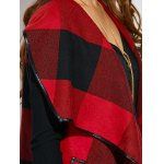 best Belted Plaid Wrap Coat