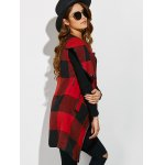 Belted Plaid Wrap Coat deal