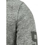 Pocket Letter Print Pullover Hoodie for sale