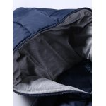 cheap Rib Cuff Side Pocket Zip Up Padded Jacket