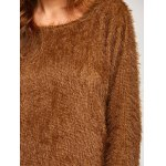 Asymmetric Pullover Mohair Sweater for sale