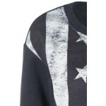 American Flag Print Sweatshirt deal