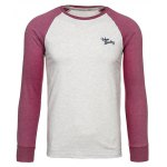 Crew Neck Raglan Sleeve Embroidered T-Shirt