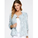 cheap Beaded Feather Decorate Jacket