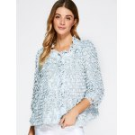 Beaded Feather Decorate Jacket deal