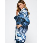 Chinese Painting Woolen Blend Coat deal