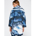 Chinese Painting Woolen Blend Coat for sale