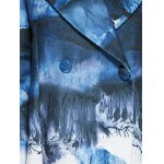 best Chinese Painting Woolen Blend Coat